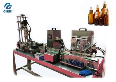 Semi - Auto Essential Oil Liquid Cosmetic  Filling Machine With Peristaltic Pump