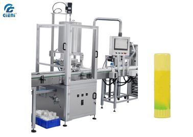 Stainless Steel Lip Balm Making Machine With 4 Nozzles 40-60pcs/Min