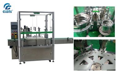 China Vibrating Table Nail Polish Filling Machine with 1 Year Warranty factory