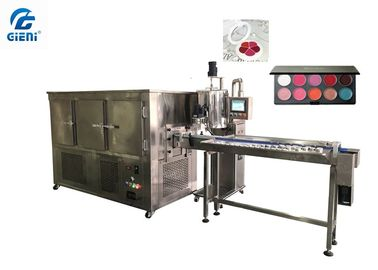 Aluminum Pan Color Cosmetic Lipstick Filling Machine Large Producing Capacity