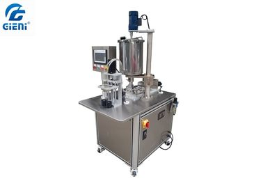 2 Nozzles Color Cosmetic Air Cushion CC Filling Machine , Easy To Operate