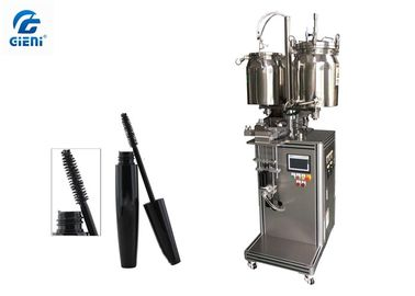 Color Cosmetic Semi - Auto Mascara Filling Machine For High Viscosity Material