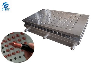 Aluminium 96 Cavities Manual Lipstick Mold For Color Cosmetic Filling Machine