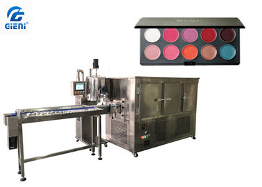 Pan Lipstick Filling Machine , Gear Pump Color Cosmetic Filling Equipment